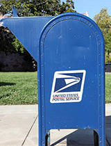 Postal Service mailbox