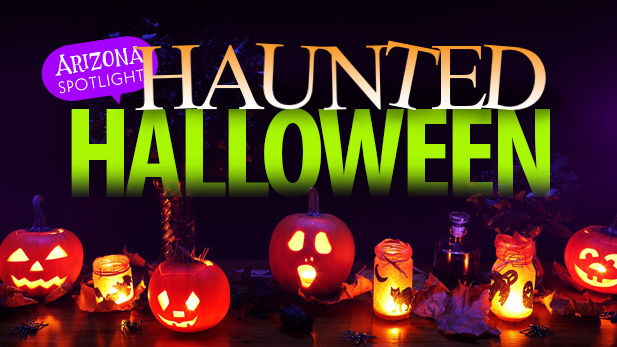 Arizona Spotlight Haunted Halloween
