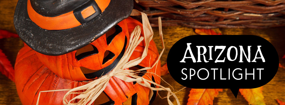 AZ Spotlight Halloween page graphic