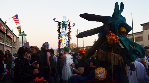 All Souls Procession 2014 SPOT 5
