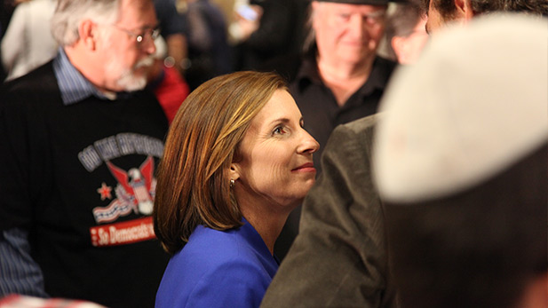 Martha McSally at the Pima County Republican Party gathering in Tucson on Election Day, Nov. 4, 2014.