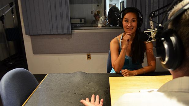 Nive Nielsen in AZPM studios.