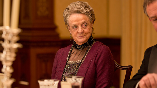 Violet, from Downton Abbey, Season 4