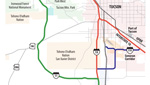 Possible Tucson-area highway projects in the future include new highways through Avra Valley and a southeastern spur connecting Interstates 10 & 19.