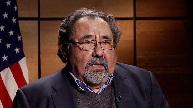 U.S. Rep. Raúl Grijalva during an interview December 2014 for Metro Week.