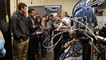 High school students take a tour of American Turbo Systems and other local mac