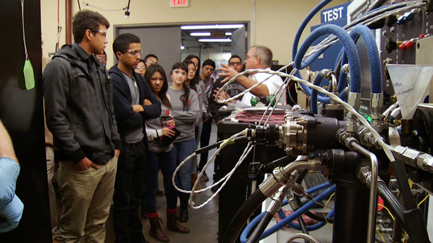 High school students tour Tucson's American Turbo Systems, where tech jobs are in demand.