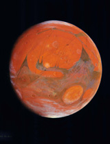 Bill Hartmann's Mars illustration