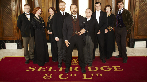 The cast of Mr. Selfridge, Seaso