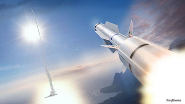 SM-3 Missiles Raytheon spot