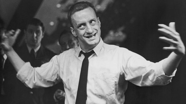 "George C. Scott as ultra-patriotic General Buck Turgidson in Stanley Kubrick's ""Dr. Strangelove"""