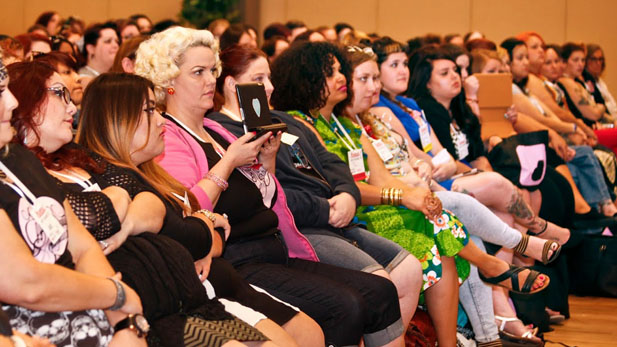 More than 400 people attended the first ever Body Love Conference