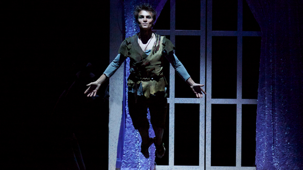 Marc Petrocci as Peter Pan in PETER PAN FROM THE MILWAUKEE BALLET