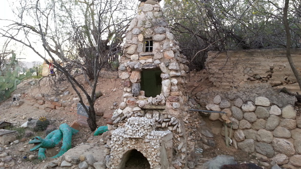 Valley of the Moon fairy house.