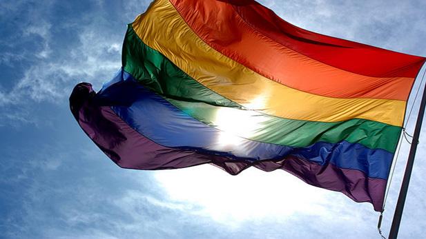 Pride flag spot