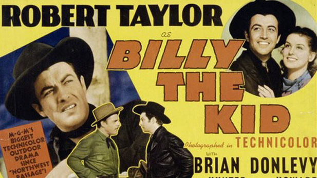 billy the kid poster spotlight