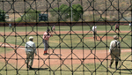 We learn about an amateur baseball tournament that plays the game by its original rules.