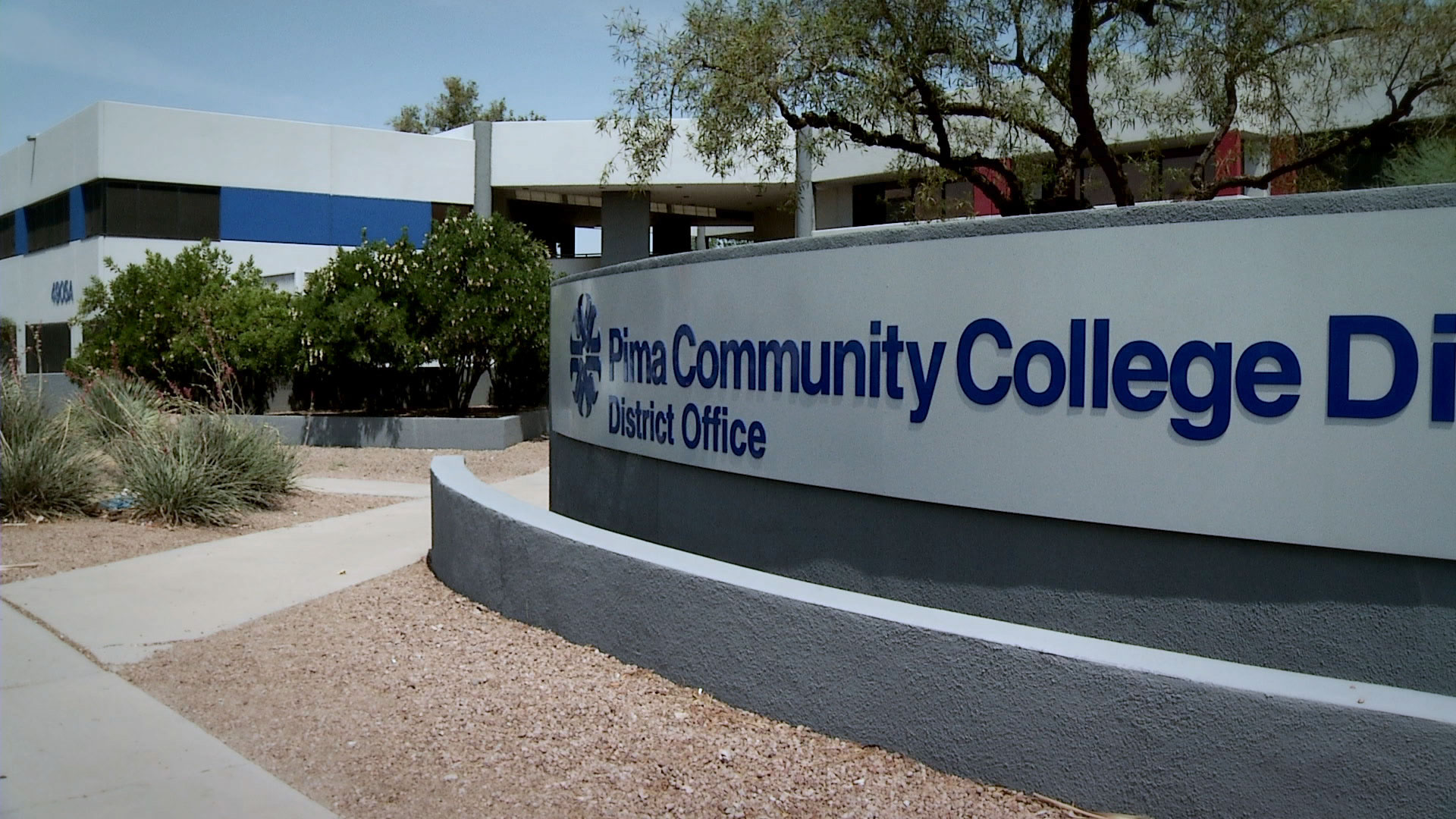 Pima Community College district office.