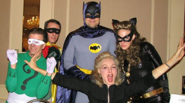 julie newmar at batconvention