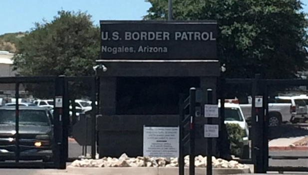 The Border Patrol's compound in Nogales, Ariz.