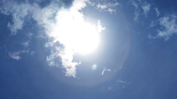 Hot Sun - Tucson sun spot