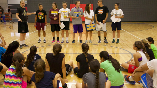 Basketball Summer Camp group spot 1