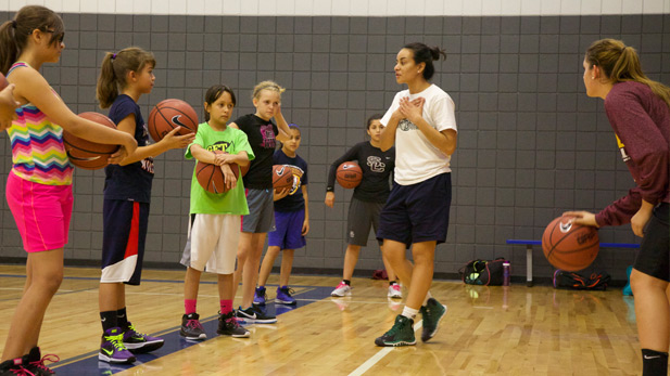 Basketball Summer Camp group spot 2