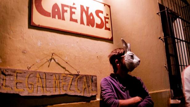 Outside Cafe No Se - SPOT