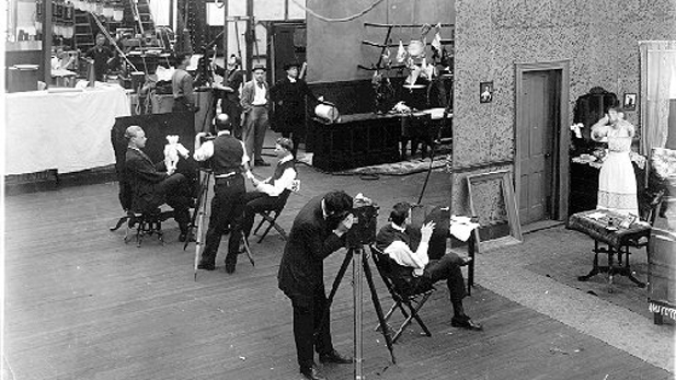 Thomas Edison's first movie studio