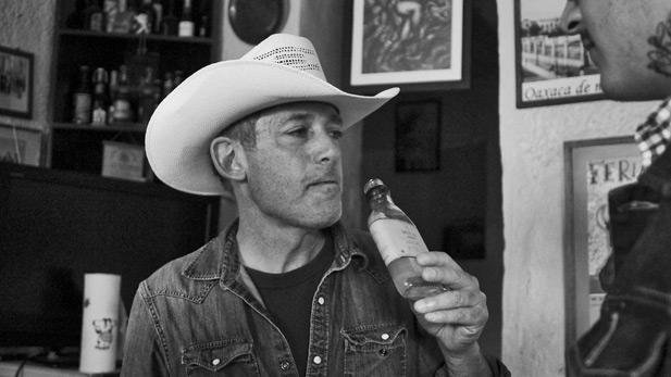 John Rexer drinking mezcal SPOT