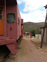 Colossal Cave train