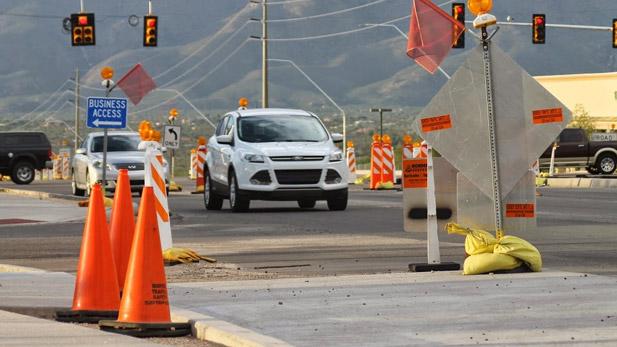 Road Construction, Road Work - Stock Spotlight