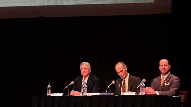 DuVal, Hess, Mealer Forum at UA 2