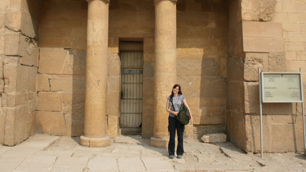 Mary Ownby in Egypt