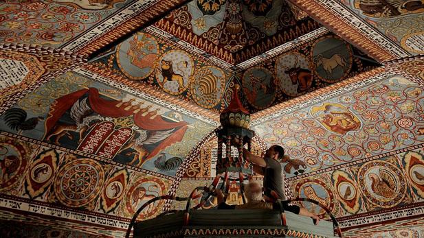 rais ethe roof painted ceiling spotlight