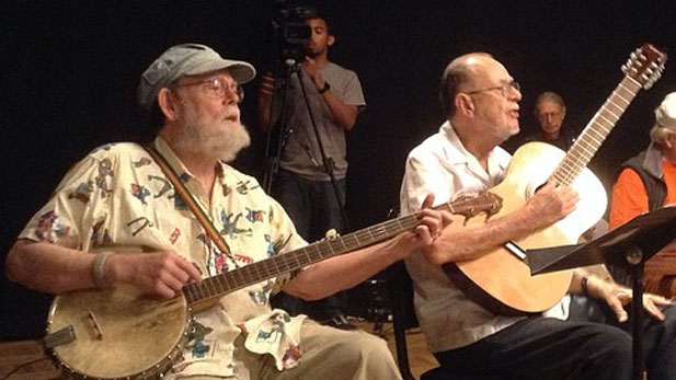 clyde appleton and michael cooney folksinger reunion spotlight