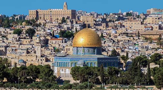 Jerusalem's Dome of the Rock.
