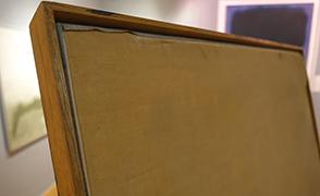 De Kooning empty frame