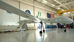 MQ-1 Predator Drone assigned to Arizona Air National Guard's 214th Reconnaissance group at Davis-Monathan AFB, Tucson.