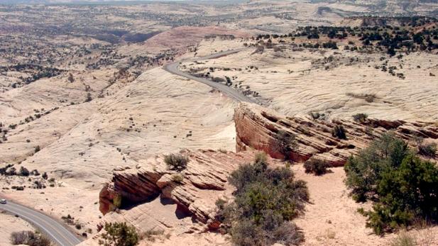 Desert scene near Escalante, Utah.