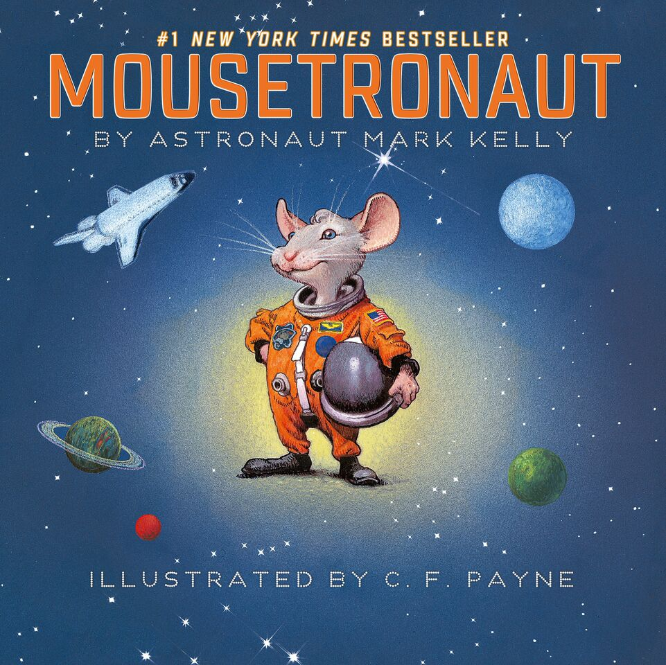 Moustronaut Cover
