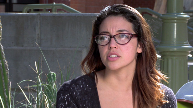 University of Arizona junior Mercedes Galarza says she took out loans to avoid dropping out of school.