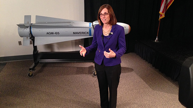 Rep. Martha McSally, R-Arizona, at Raytheon Missile Systems in Tucson.  March 11, 2015