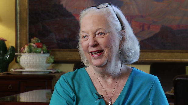 Author J.A. Jance in her Tucson home, March 2015.
