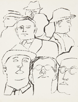 "kasser warhol ""heads of men"""