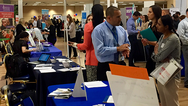 Local and national companies have more than 5,000 jobs and internships up for grabs at the UA's Spring Career Days.