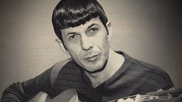 Leonard Nimoy was an enthusiastic guitarist and songwriter throughout his life.