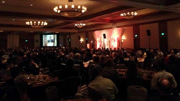 Mayor Jonathan Rothschild gives his fourth State of the City speech on Friday, March 6, 2015 at the JW Marriott Starr Pass Resort.