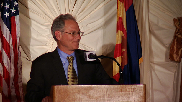 Tucson Mayor Jonathan Rothschild gives his state of the city address.