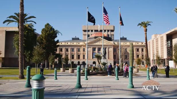 Arizona Capitol spotlight